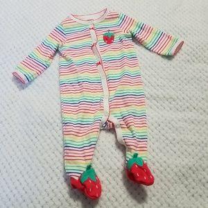Carters Baby Girl Sleeper 3months